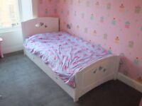 Mamas and Papas single loveheart bed in great condition
