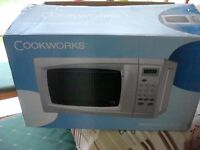 Cookworks Standard Microwave.