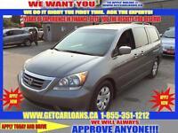 2009 Honda Odyssey EX*8 PASSENGER****PAY $58.22 WEEKLY ZERO DOWN