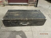 Vintage carpenter/joiner tool chest trunk