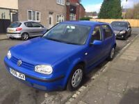 2000 V REG VW GOLF 1.6 MOT MAY 2018 SERVICE HISTORY LOW MILEAGE CLEAN RELIABLE CAR PX WELCOME £450