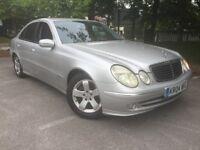 Mercedes E270 Cdi Auto SAT NAV FSH 2 Keys