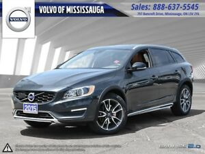 2015 Volvo V60 Cross Country T5 AWD Premier Plus from 0.9%-6Yr/1