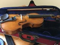 Half size Stentor violin with case for sale!
