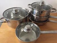 Stainless steel pots/pans: