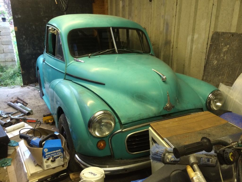 1955 split screen Morris minor 1380 turbo unfinished project hot ...