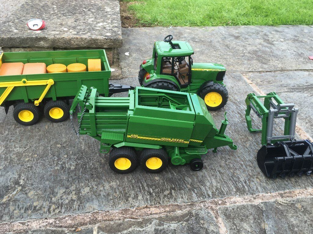 John deer toy tractor with trailer and combine harvester  : 86 from www.gumtree.com size 1024 x 768 jpeg 249kB