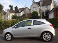 (59) VAUXHALL CORSA 1.2 ACTIVE PLUS 3dr GENUINE 35K MILES, FSH, PAN GLASS ROOF, VERY HIGH SPEC CORSA