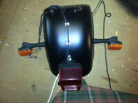 Harley Davidson 280 / 300 Rear Mudguard / Fender Custom etc Milwaukee Iron