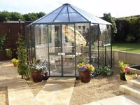 Summerhouse / greenhouse/ hot tub house with strong safety glass