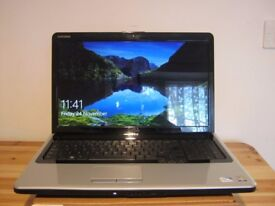 """Dell Inspiron 1750 17.3"""" Laptop Computer Intel Core 2 Duo T6600, 320GB HDD, 4GB"""