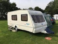 2003 Bailey ranger 510/4 touring caravan