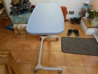 Easylift Overbed/Chair Hospital Table