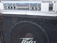 Hartke HA3500 Bass guitar amp head. Like new condition!