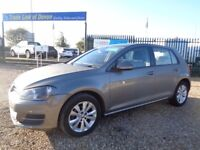 VOLKSWAGEN GOLF 1.6 TDI BlueMotion Tech SE Hatchback 5dr (start/stop) (grey) 2014