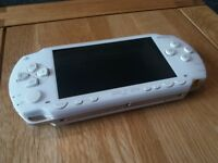psp with games and films