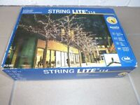NEW BOXED SPECIAL QUALITY STRING OUT DOOR LIGHTS