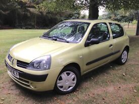 Renault Clio - Automatic - Low mileage - warranty