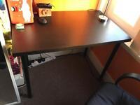 Black basic desk