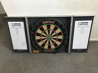 Dart Board and wall mount case