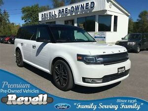 2015 Ford Flex Limited AWD...moonroof, heated leather, rear air/
