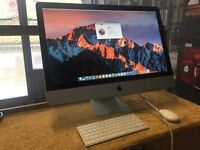 "iMac 27"" Intel Core i5 2010 8GB RAM 1TB HDD Apple Keyboard & Mouse Latest Software"