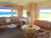SEA VIEW CHEAP STATIC CARAVAN FOR SALE 2 BEDROOM HOLIDAY HOME