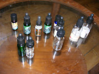 Free collection of glass empty vaping/scent/aromatheropy bottles 10-50ml