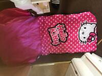 Hello kitty inflatable bed