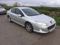 2009 Peugeot 407 1.6 Hdi full service history long mot Excellent drives cheap to run hpi clear