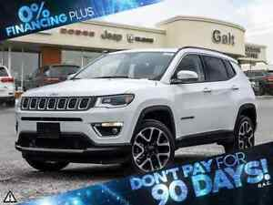 2018 Jeep Compass LIMITED | NAV | HEATED SEATS | BLIND SPOT |