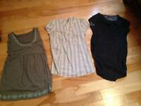 Maternity clothes (size small)