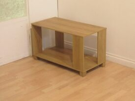 Oak Colour Coffee & End Table (Also Available in Walnut Effect)