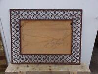 Large Filigree Metal frame