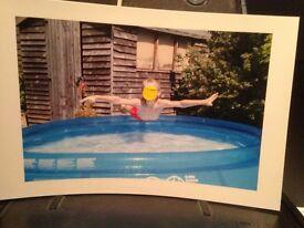 Children's swimming Pool six feet wide (approx)