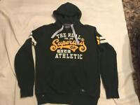 Superdry hoody hoodies dark green size M used £10