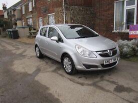 Vauxhall Corsa club CTDi 1.2 Diesel. Cheap car tax, 11 months MOT and a good runner!