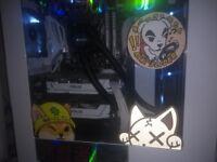 Asus Nvidia GeForce gtx 1070 8gb dual oc white
