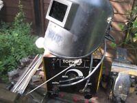 140 AMP ARC WELDER +angle grinder MAKITA + WELDING ELECTRODES, ETC.