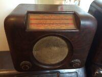 Bush Bakelite DAC 90A vintage collectors radio, Antrim town