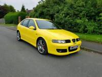2003 SEAT LEON CUPRA R 1.8t * FULL SEAT HISTORY * 1 LADY OWNER FROM NEW *