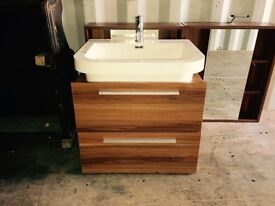 Modern bathroom sinks x2
