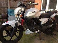 Ksr moto worx 125 motorcycle .