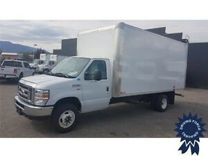 2016 Ford E-450 16 Ft Cube Van Rear Wheel Drive - 21,341 KMs