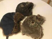 3 Boys winter hats