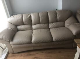 3 seater and 1 arm chair