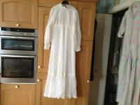 1970's Handmade Wedding Dress