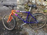 26 inch 7 cog mountain bike back wheel wanted