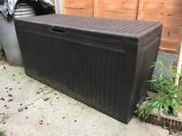 Garden storage box £20