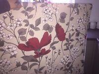 Flower patterned Roller Blind ideal for Bedroom, Living Room or Bedroom from Dunelm